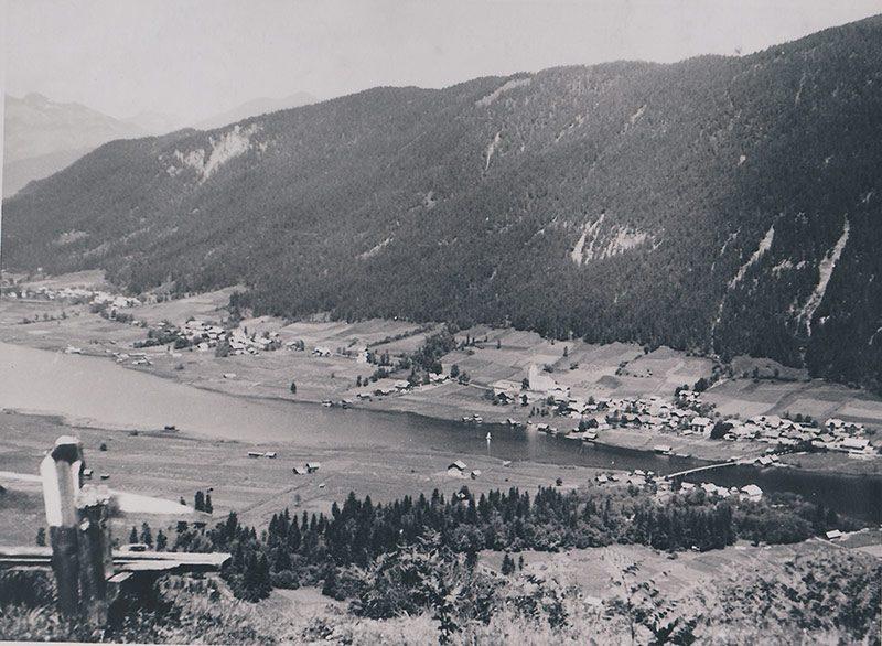 Hotel Harrida Weissensee Landschaft Geschichte