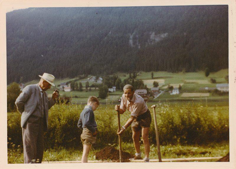 Hotel Harrida Weissensee Rudulf Posch Geschichte