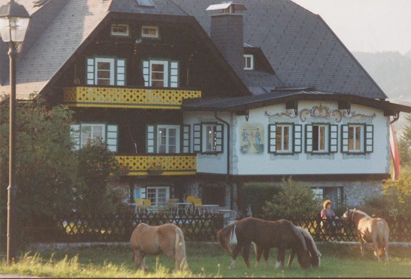Hotel Harrida Weissensee Geschichte
