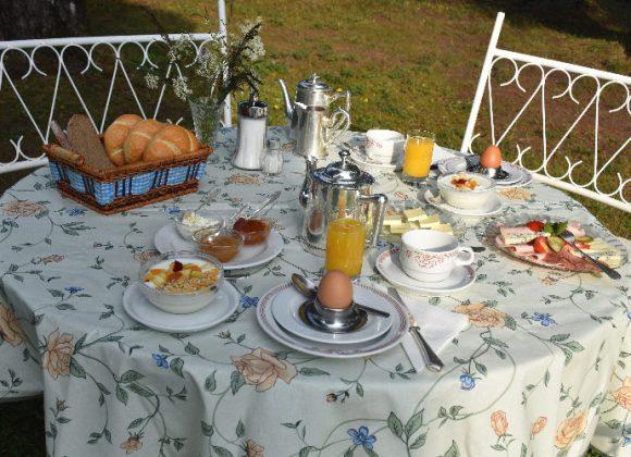 Hotel Harrida Weissensee Frühstück