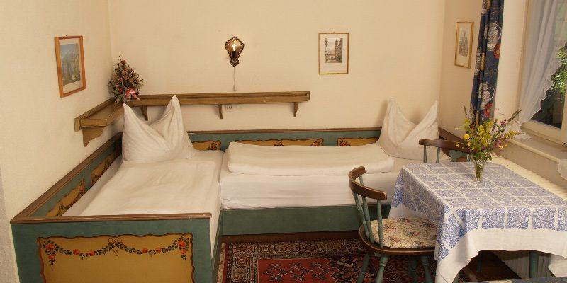 Hotel Harrida Weissensee Zweibettzimmer
